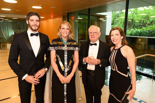 Mr. Dávid Korányi, Ambassador Colleen Bell, Coalition Treasurer Mr. Zsolt Szekeres, Ms. Evelyn Farkas