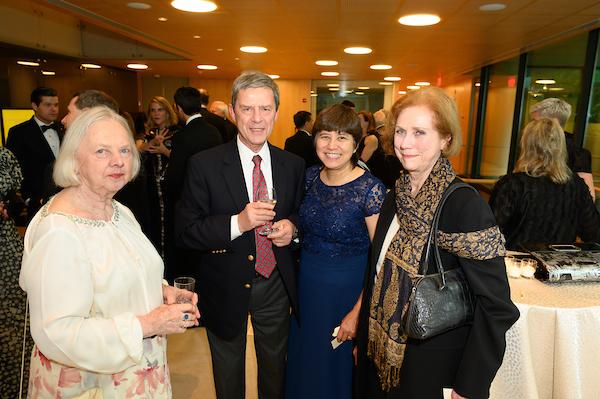 Mrs. Enikő M. Basa, Dr. Péter Wm. Forgách, Mrs. Kathleen Forgách, Mrs. Anne C. Bader