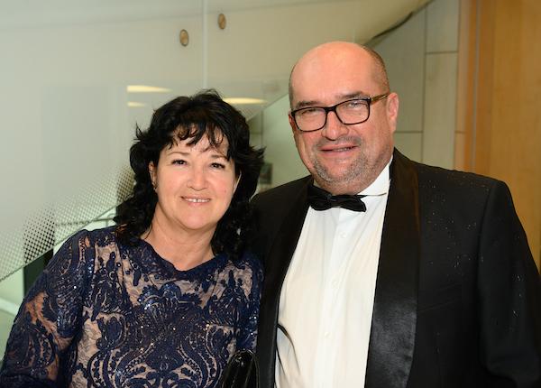 Mrs. Zsóka Sepella-Brenzovics, Dr. László Brenzovics