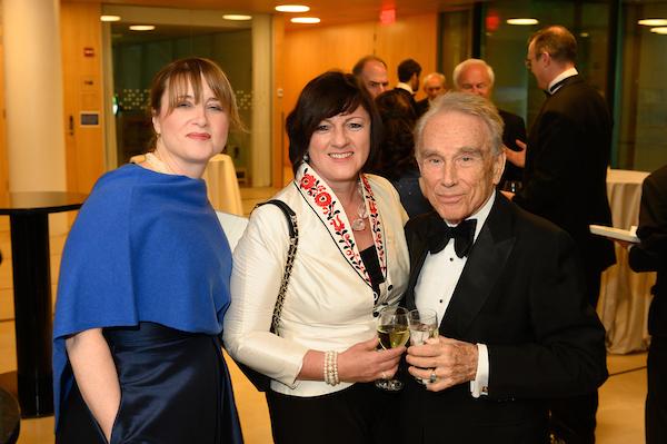 Ms. Ilona Teleki, Ambassador Dr. Réka Szemerkényi, Mr. Julius Várallyay