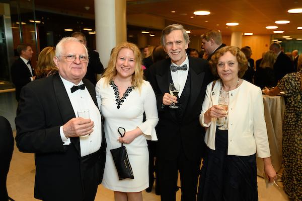 Coalition Treasurer Zsolt Szekeres, Ms. Zsófia Parragh, Mr. Tibor Purger, Mrs. Emese Purger