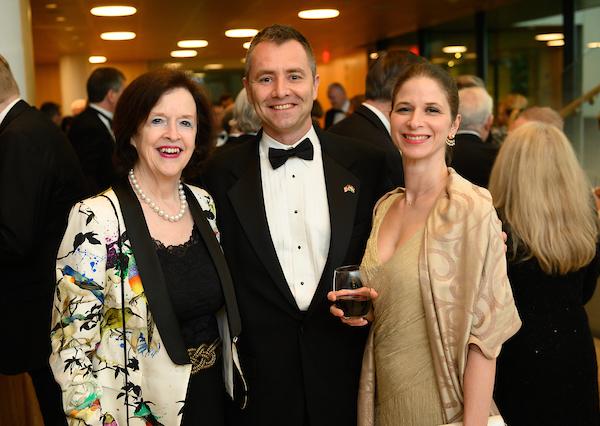Ambassador April H. Foley, Mr. Béla Gedeon, Dr. Mónika Varga