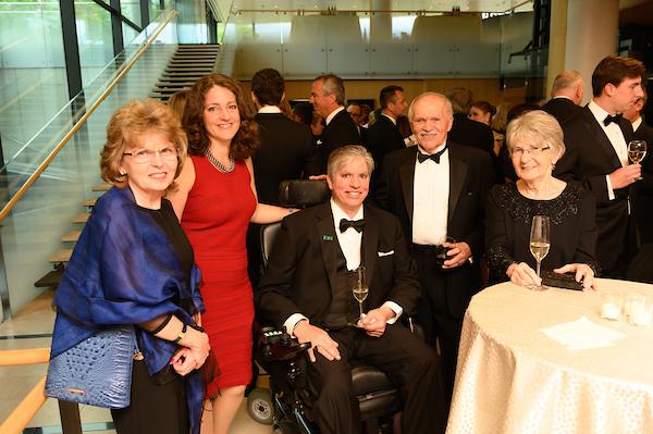 Dr. Krisztina Osvát, Mrs. Wendy Teleki, Coalition President Emeritus Mr. Max Teleki, Mr. Árpád Kovács, Mrs. Éva Kovács