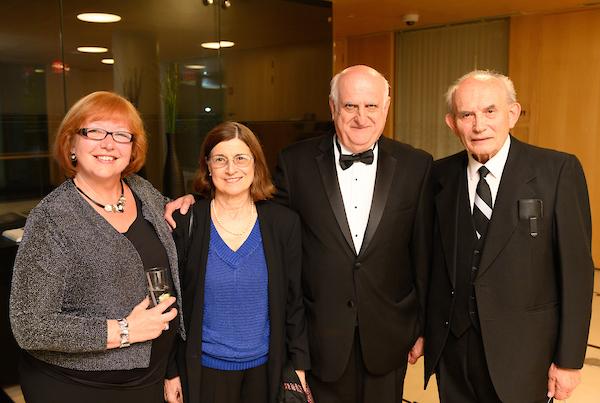 Coalition Chairman Dr. Ágnes Virga, Mrs. Judit Szekeres, Mr. János Szekeres, Mr. George Dozsa