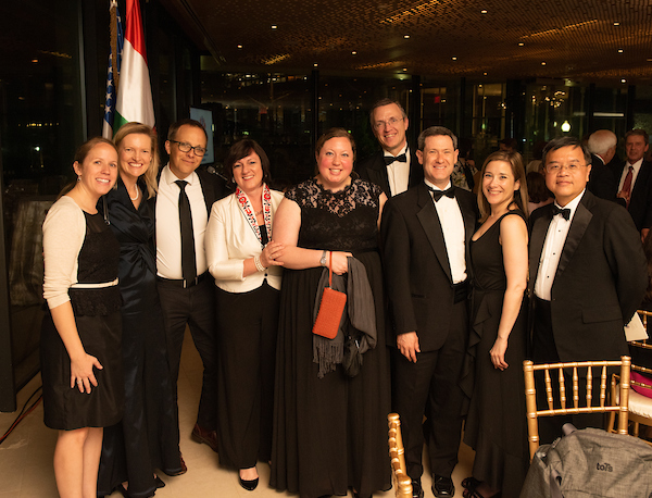 Ambassador Colleen Bell's guests