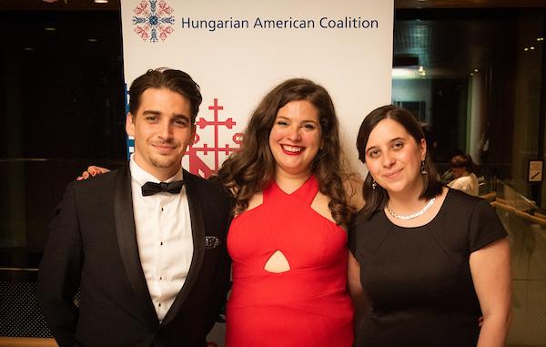 LTP intern Dr. Balázs Rudinszky, Coalition Program Coordinator Ms. Noémi Bánhidi, LTP intern Ms. Borbála Péntek