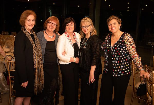 Ms. Anne C. Bader, Dr. Ágnes Virga, Ambassador Dr. Réka Szemerkényi, Coalition VP Ms. Csilla Grauzer, Coalition President Mrs. Andrea Lauer Rice