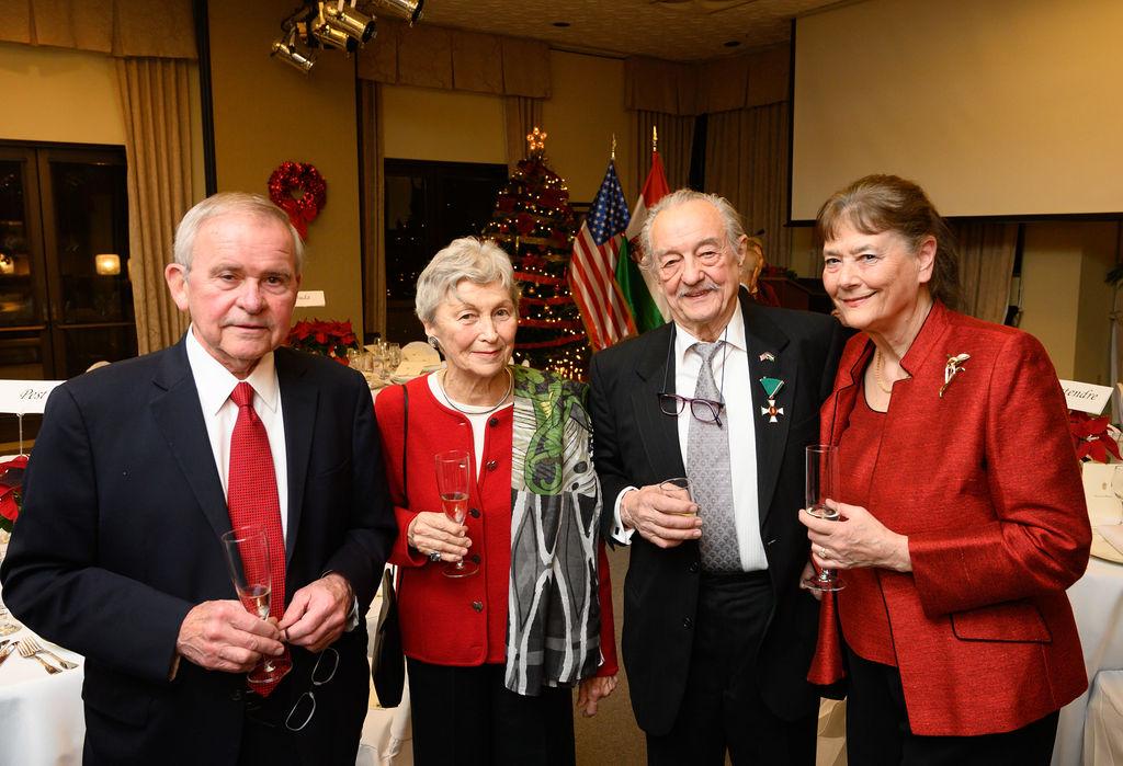 Mr. Peter Kurz, Mrs. Nóra Szabó, Mr. László Fülöp, Mrs. Ágnes Fülöp