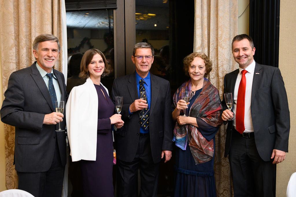Mr. Tibor Purger, Dr. Mónika Varga, Dr. Péter Forgách, Mrs. Emese Purger, Mr. Béla Gedeon