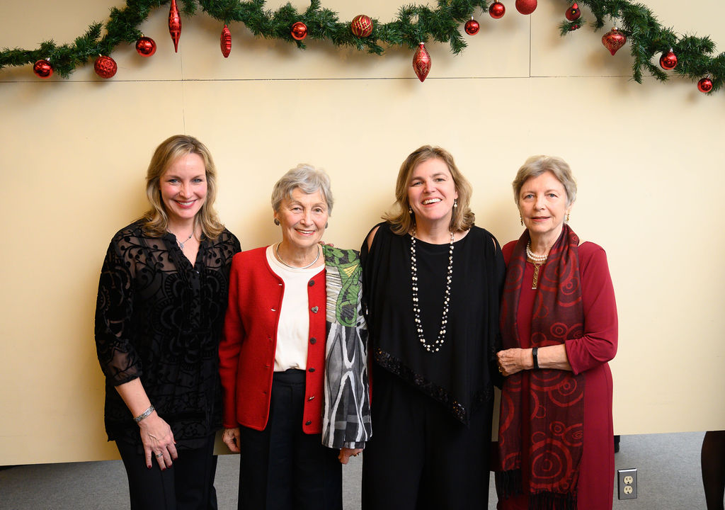 The Kiss and Lauer sisters: Mrs. Kriszta Nagy, Mrs. Nóra Szabó, Mrs. Andrea Lauer Rice, Mrs. Edith K. Lauer