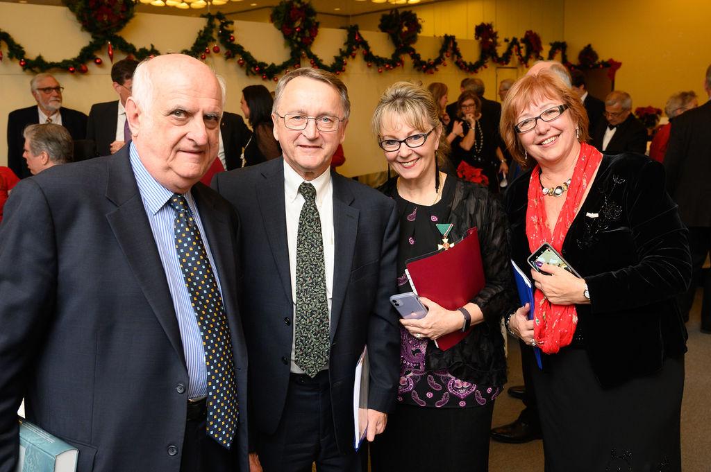 Mr. János Szekeres, Mr. Gabe Rozsa, Mrs. Csilla Grauzer, Dr. Ágnes Virga