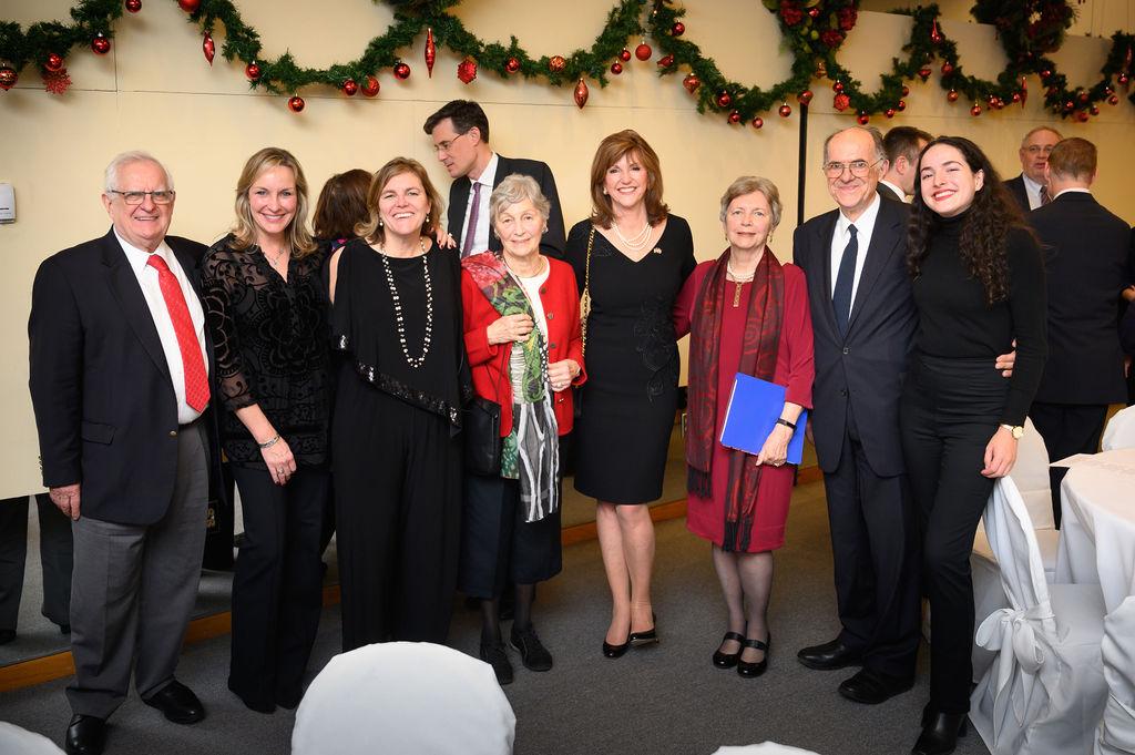 Mr. Zsolt Szekeres, Mrs. Kriszta Nagy, Mrs. Andrea Lauer Rice, Mrs. Nóra Szabó, Mrs. Susan Hutchison, Mrs. Edith K. Lauer, Mr. Szabolcs Szekeres, Ms. Melinda Szekeres
