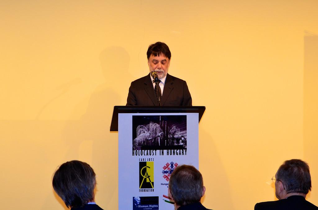 Dr. Tamás Fellegi - Photo by: Babette Rittmeyer/Lantos Foundation