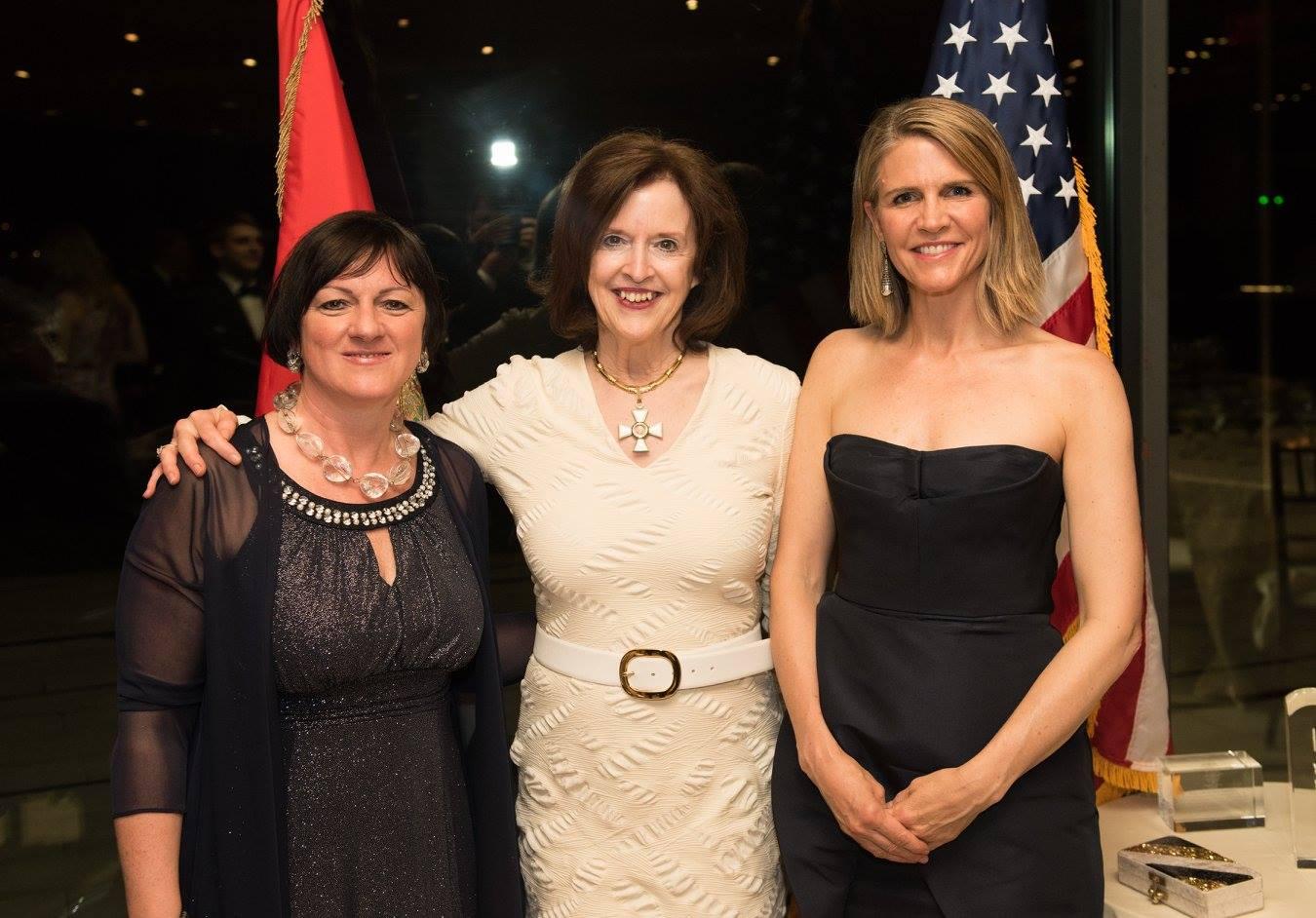 Ambassador Dr. Réka Szemerkényi, Ambassador April H. Foley, Ambassador Colleen Bell
