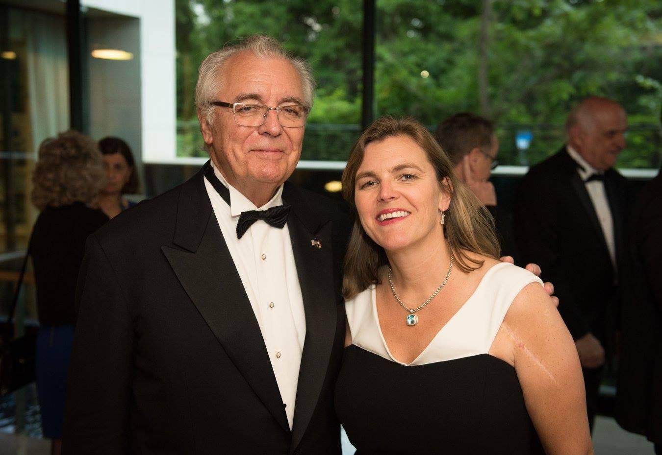 Mr. John N. Lauer, Mrs Andrea Lauer Rice