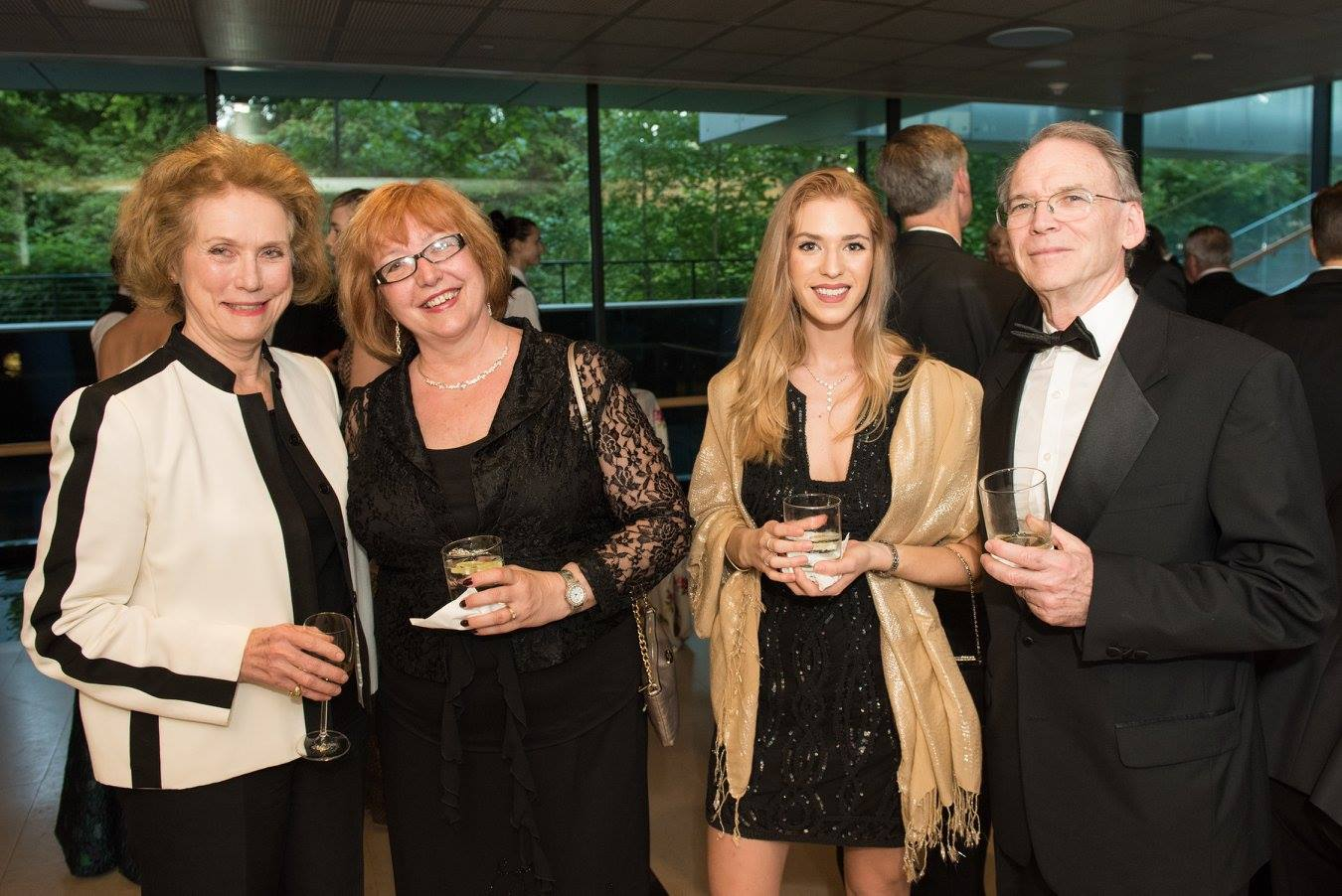 Mrs. Anne C. Bader, Dr. Ágnes Virga, Ms. Faye Gillespie, Mr. Raye Gillespie