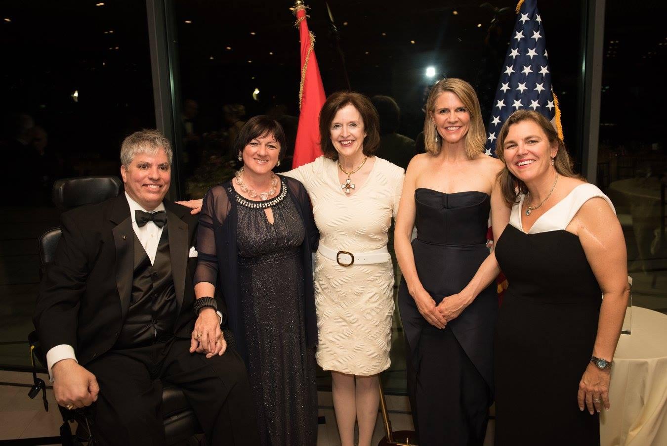 Mr. Max Teleki, Ambassador Dr. Réka Szemerkényi, Ambassador April H. Foley, Ambassador Colleen Bell, Mrs. Andrea Lauer Rice