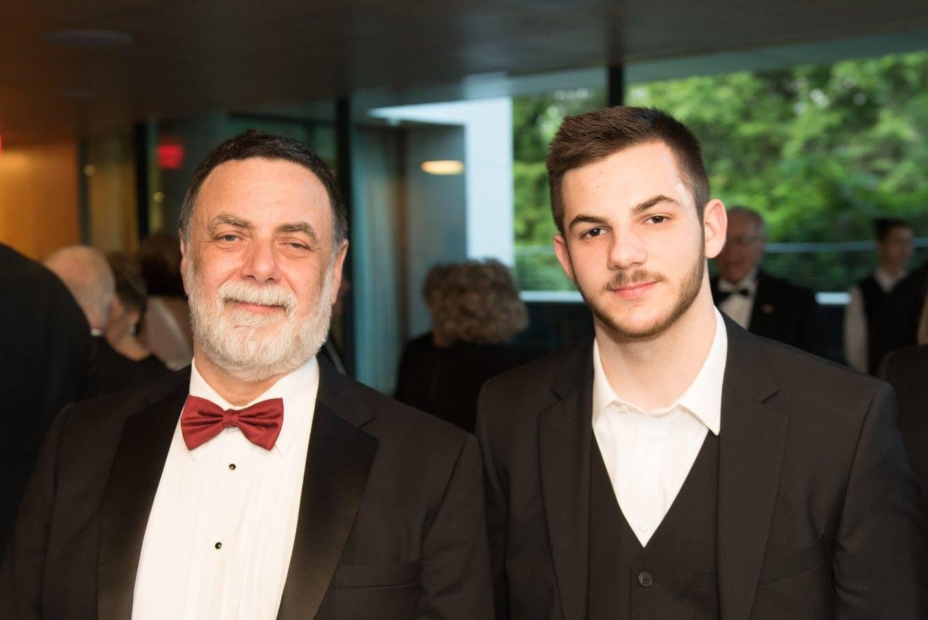 Dr. Tamás Fellegi and his son Mr. Benjámin Fellegi
