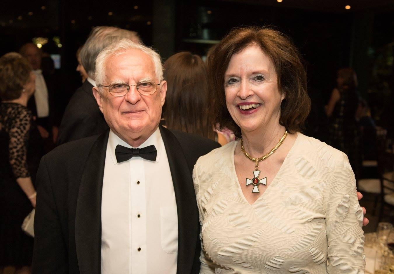 Mr. Zsolt Szekeres and Ambassador April H. Foley