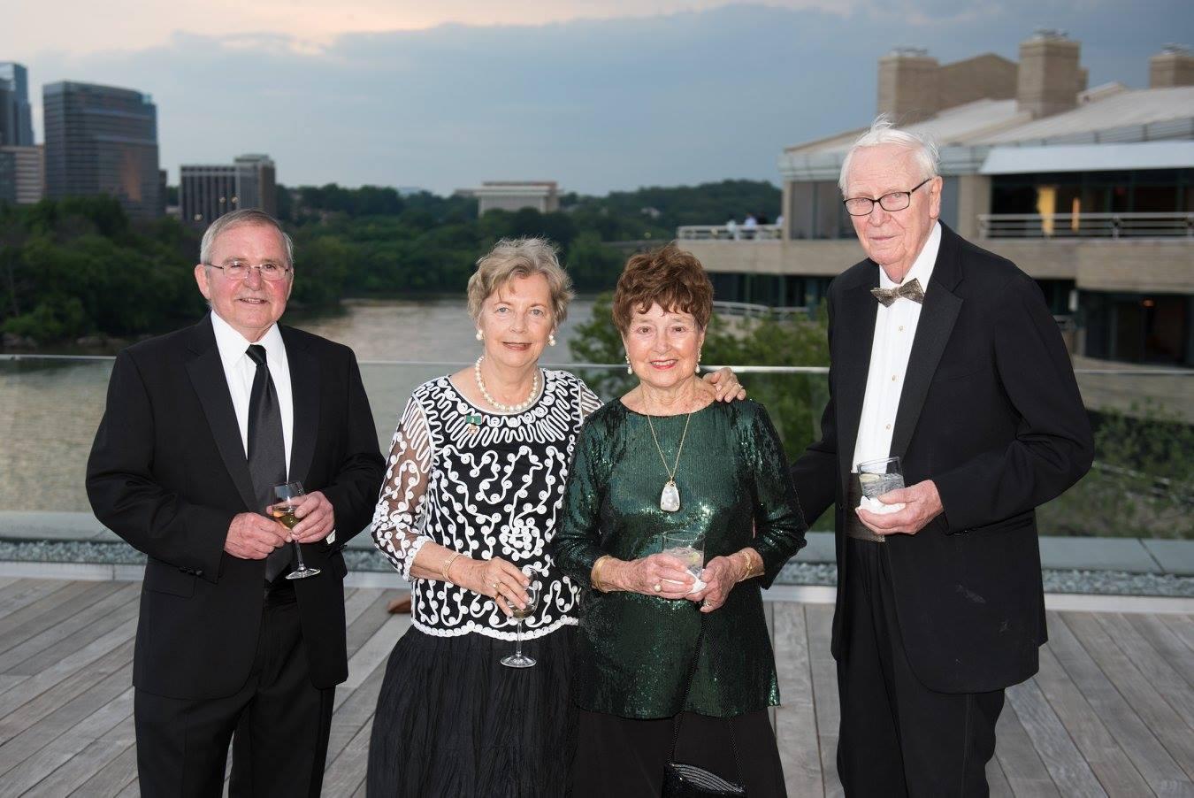 Mr. Péter Kurz, Mrs. Edith K. Lauer, Mrs. Jeanette Brown, Mr. Glenn Brown