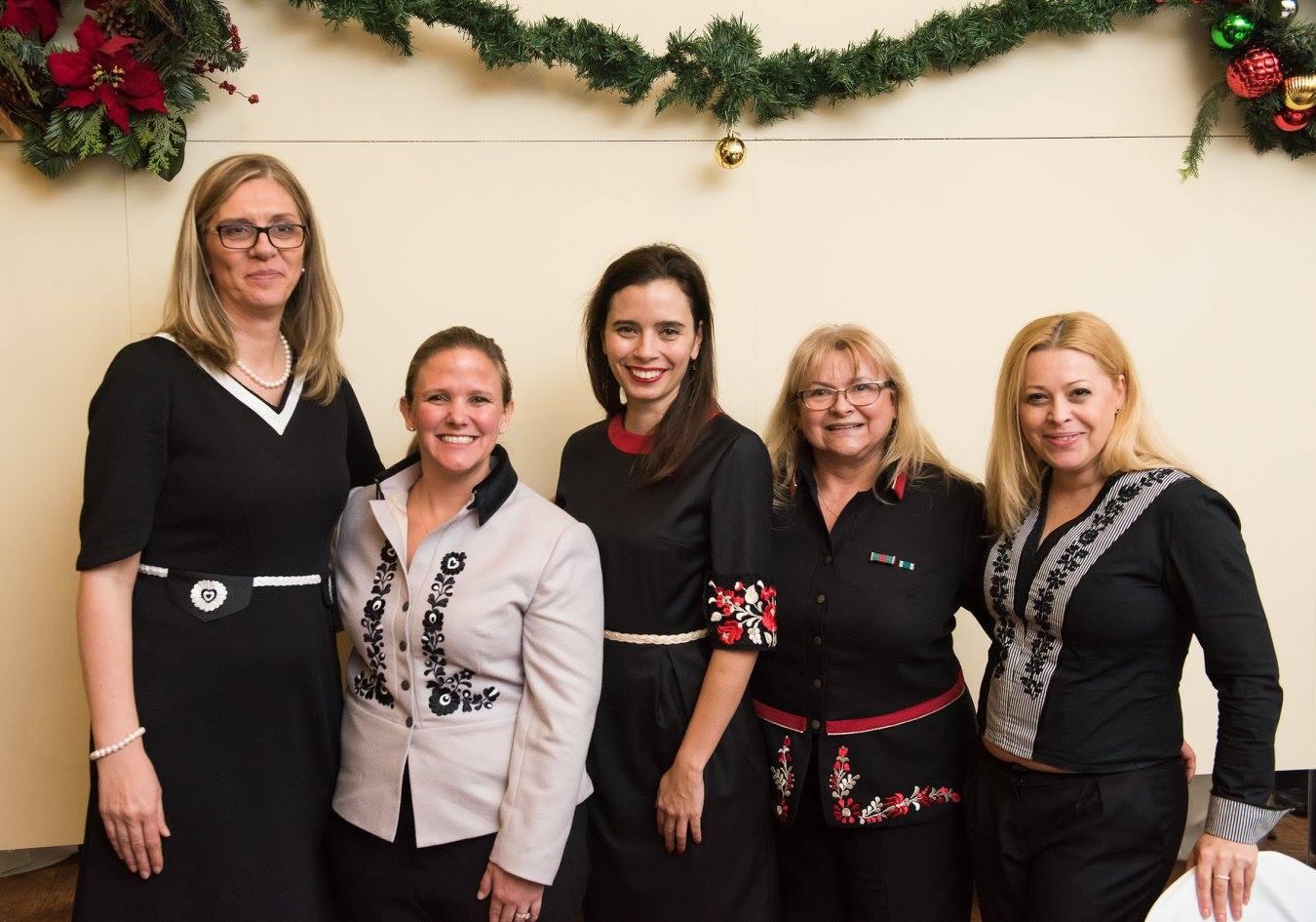 Ms. Andrea Gulyás, Mrs. Stephanie Ellis Foster, Dr. Ivonn Szeverényi, Mrs. Erika Fedor, Ms. Tünde Hrivnák