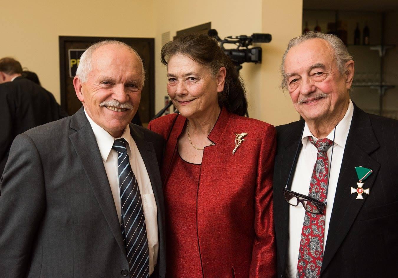 Mr. Árpád Kovács, Mrs. Ágnes Fülöp, Mr. László Fülöp