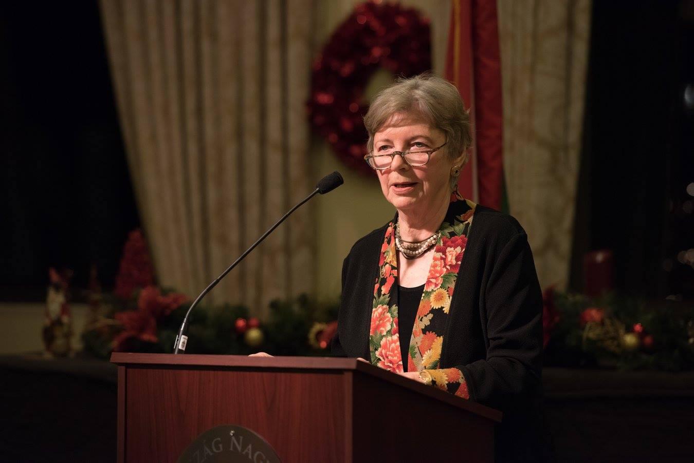 Coalition Chair Emerita Mrs. Edith K. Lauer