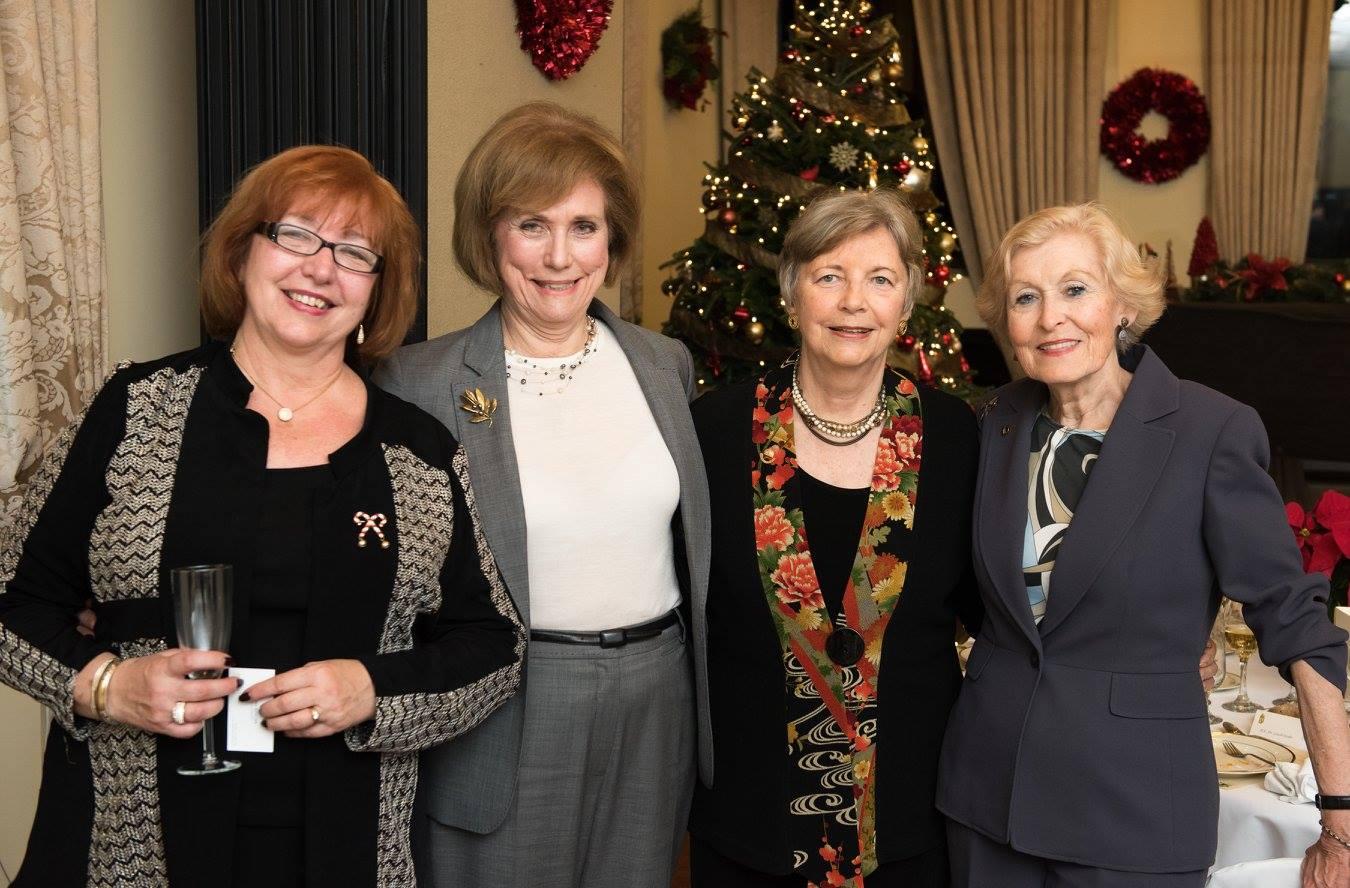 Dr. Ágnes Virga, Ms. Anne C. Bader, Coalition Chair Emerita Edith K. Lauer, Mrs. Eva E. Voisin