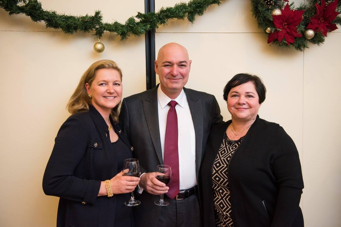 Mrs. Kinga Hydras, Mr. Labros Hydras, Ms. Katalin Pearman