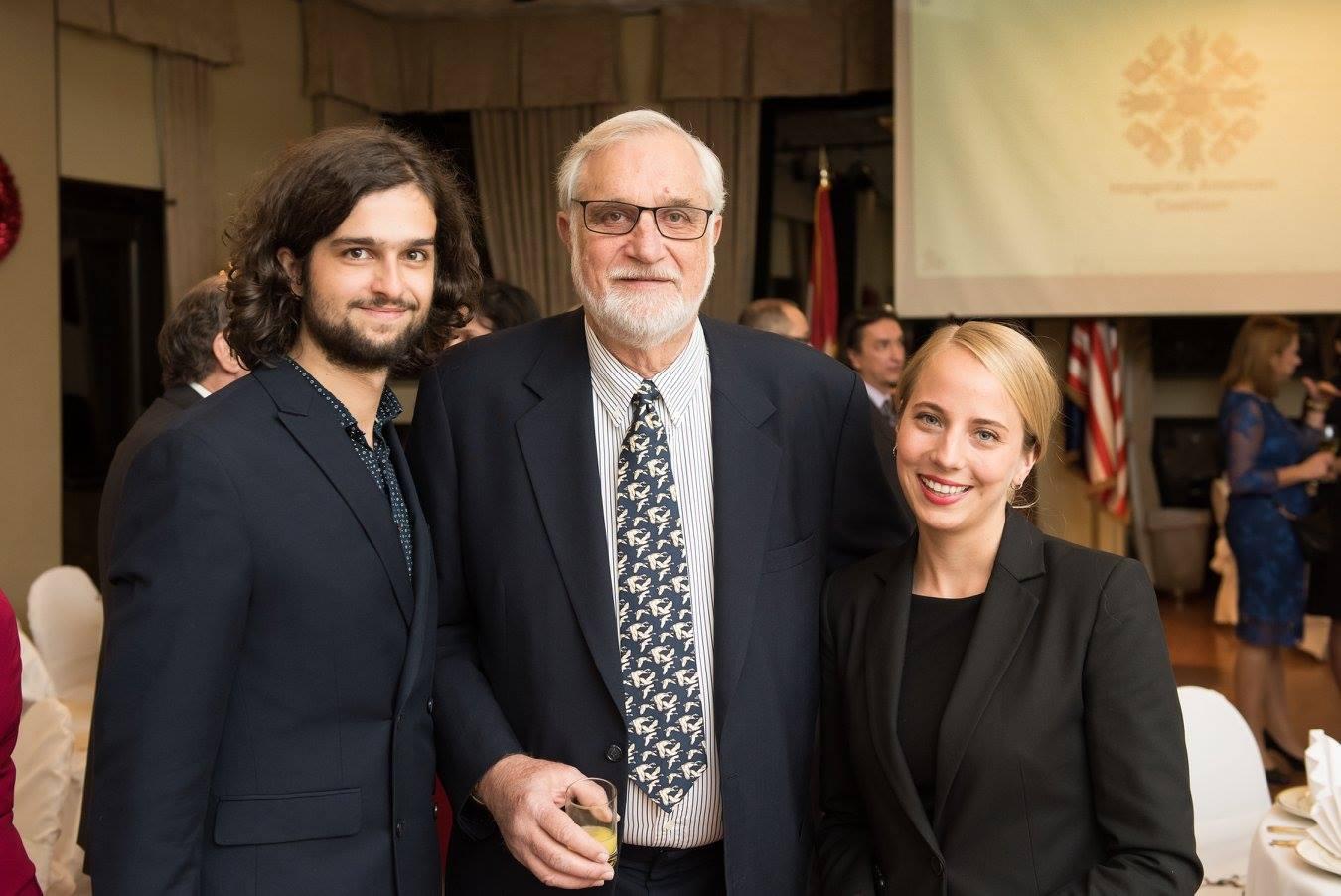 Mr. Máté Vincze, Coaliton Secretary Mr. George Pogan, Ms. Noémi Szakonyi