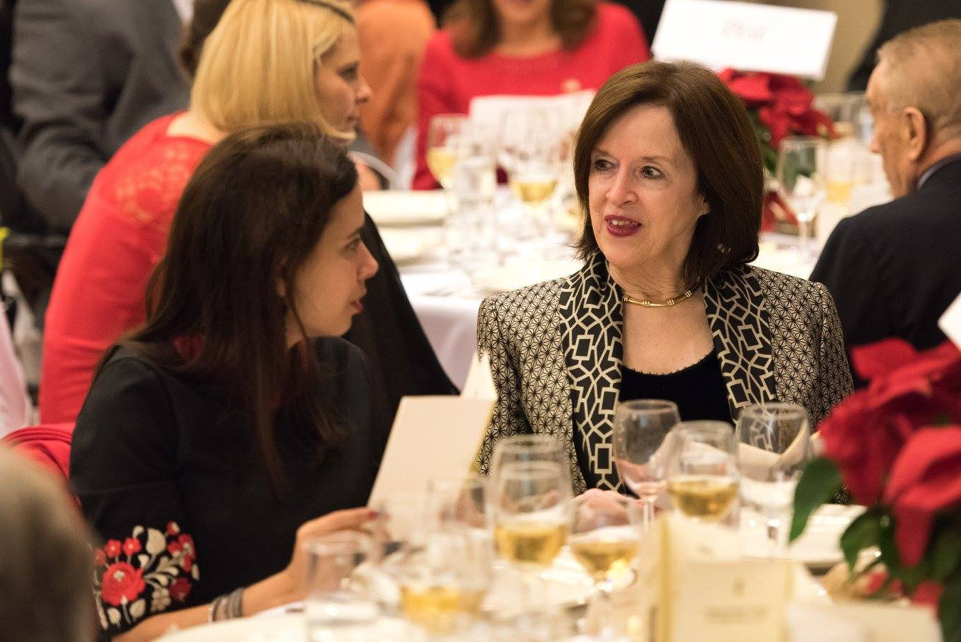 Dr. Ivonn Szeverényi, Ambassador April H. Foley