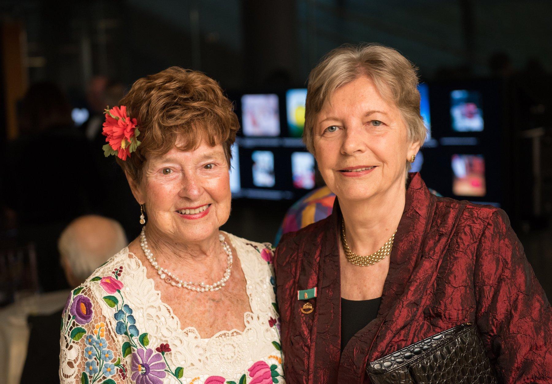 Gala honoree Dr. Jenny Brown and HAC Chair Emerita Edith K. Lauer
