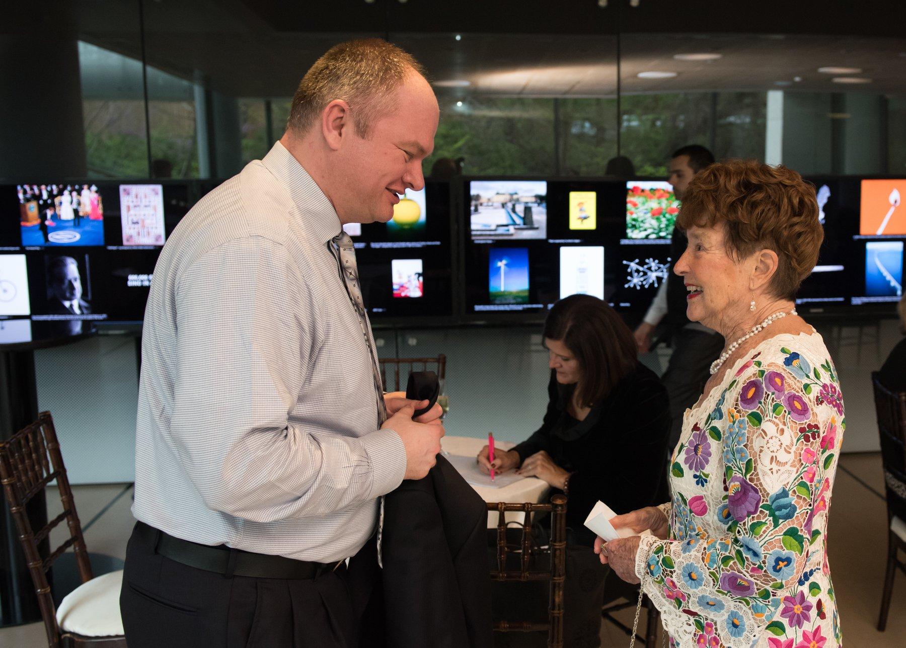 Zsolt Molnar, Bocskai Radio with Gala honoree Dr. Jenny Brown