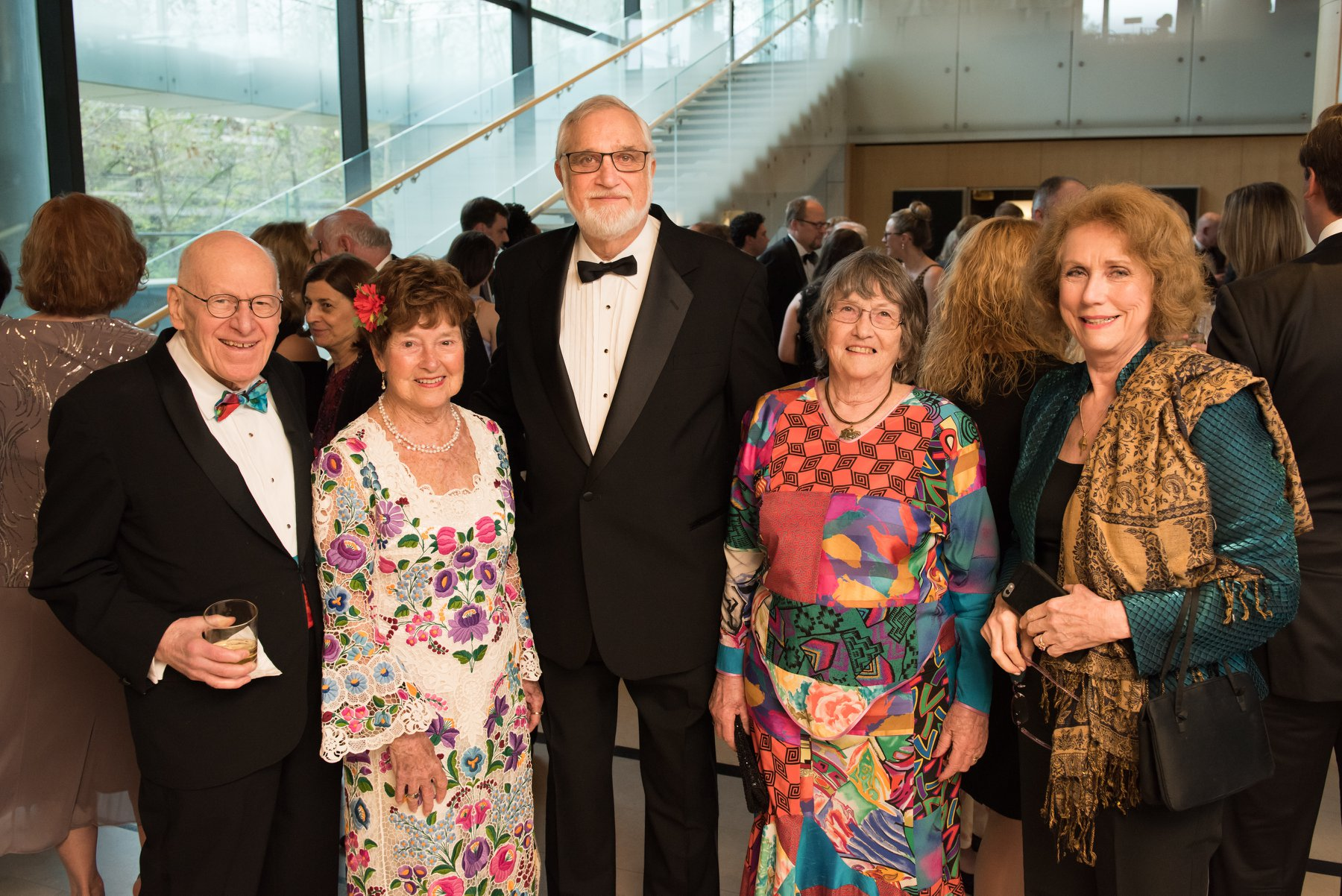 Ted Horvath, Dr. Jenny Brown, George and Sandy Pogan, Anne C Bader