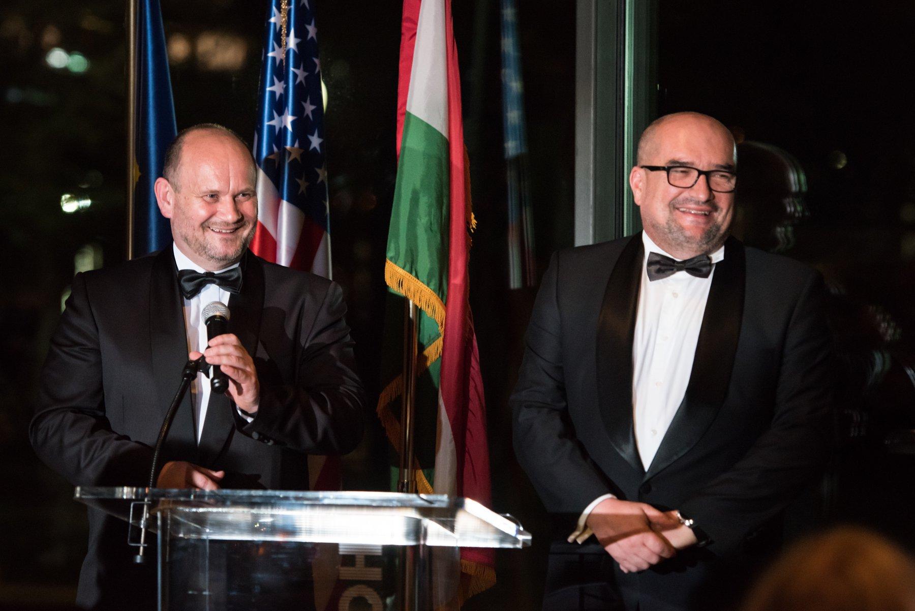Mr. György Kóta and Dr. László Brenzovics