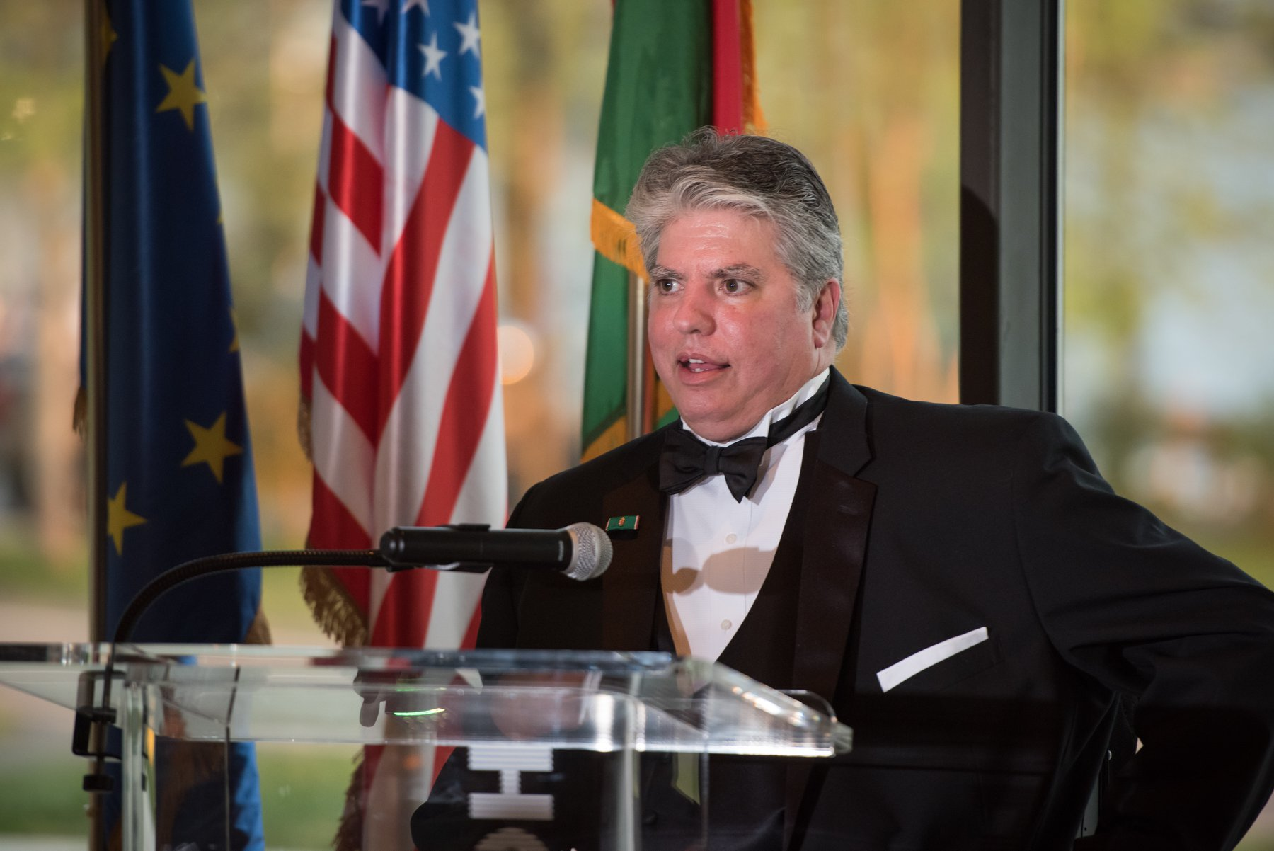 HAC President Emeritus Max Teleki