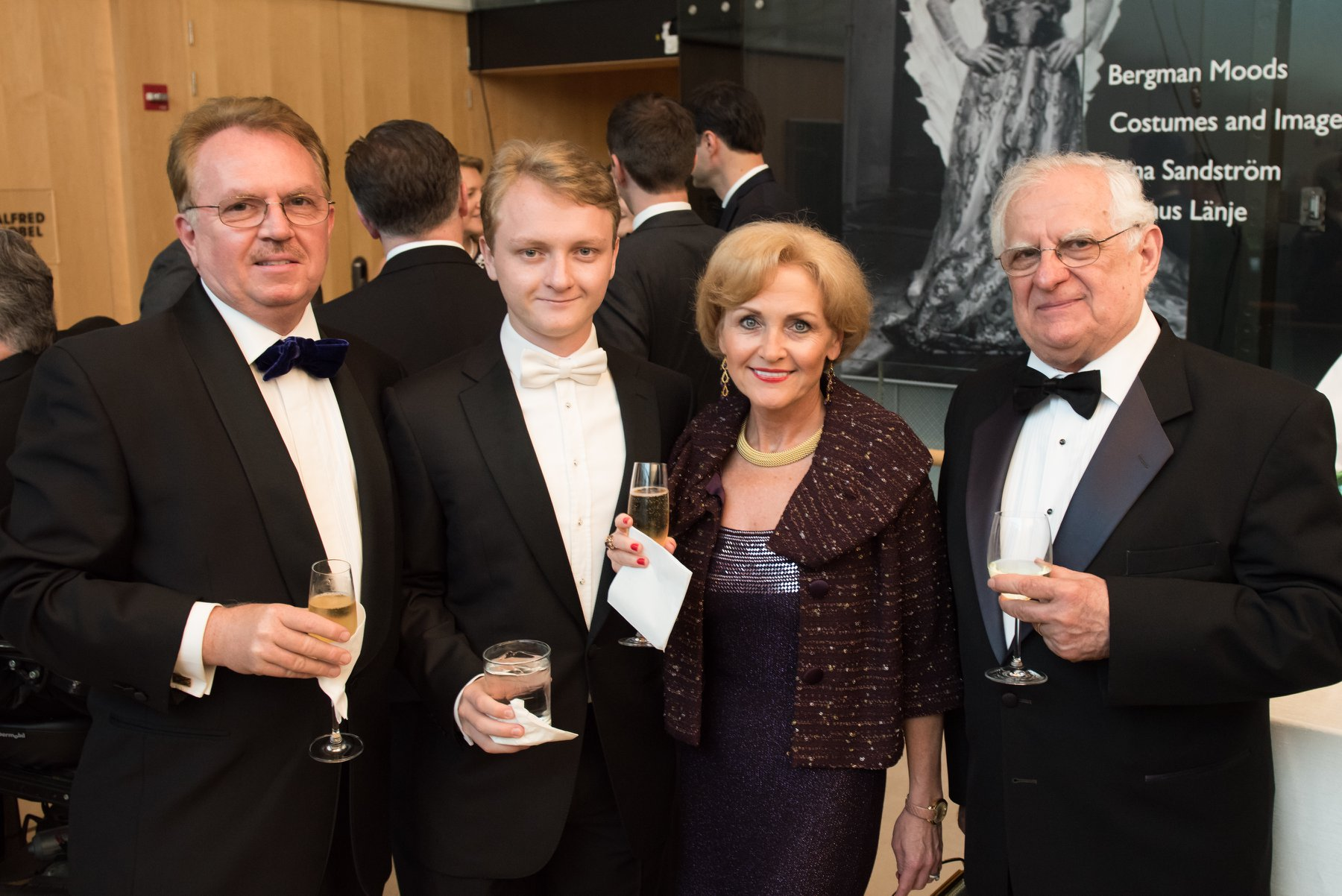 Attila Beres, Adam Beres, Dr. Susan Pekarovics, Ambassadors of the Future, with Zsolt Szekeres