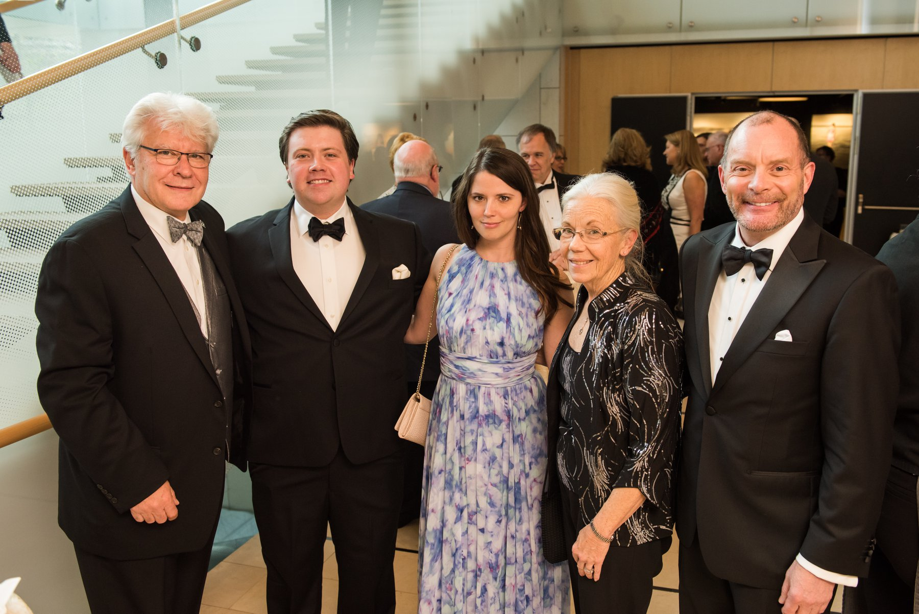 Coalition Vice President Stefan Fedor, with Niles Barnhart, Candace Greaux, Jo Anne Barnhart, Craig Engle, Magyar Foundation