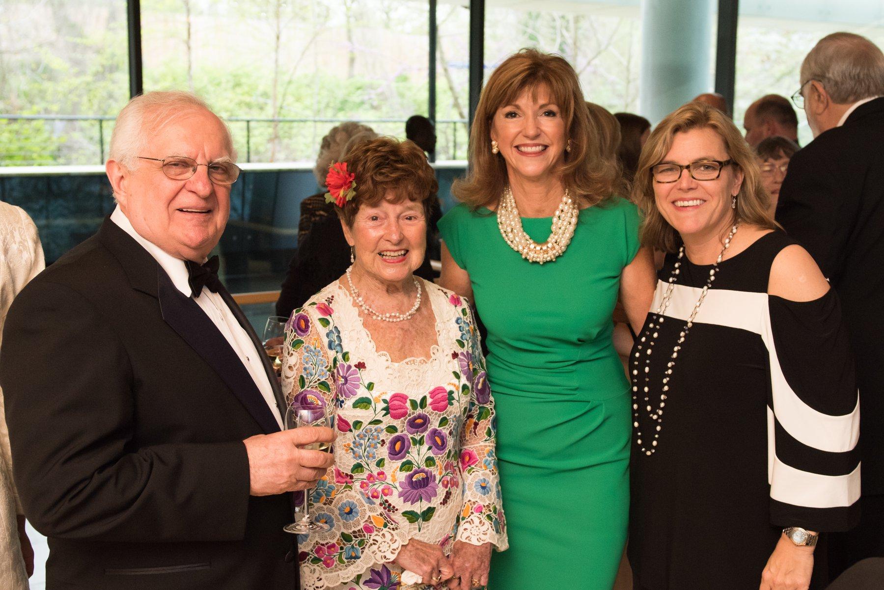 Zsolt Szekeres, Dr. Jenny Brown, Susan Hutchison, HAC President Andrea Lauer Rice