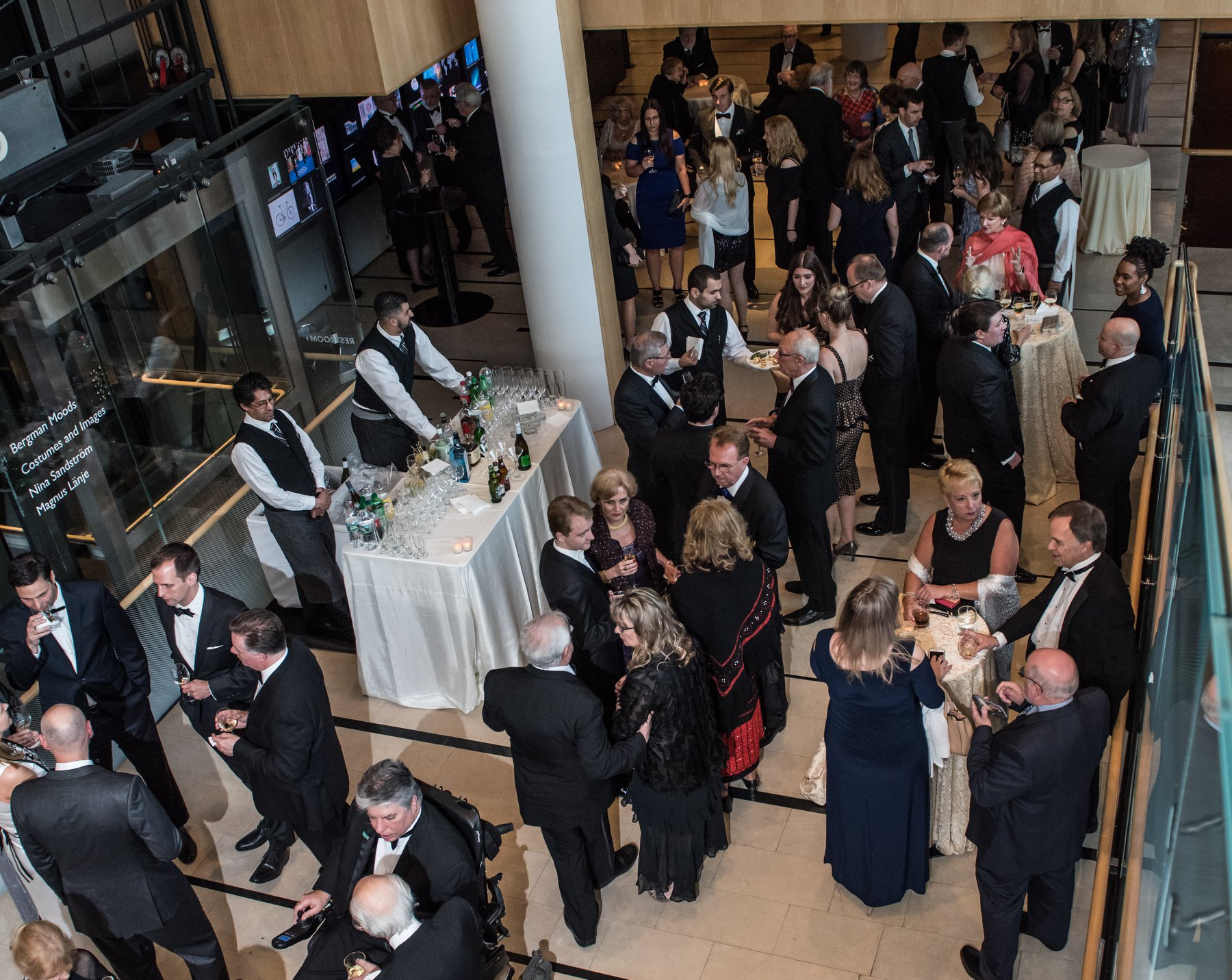 Reception at the House of Sweden