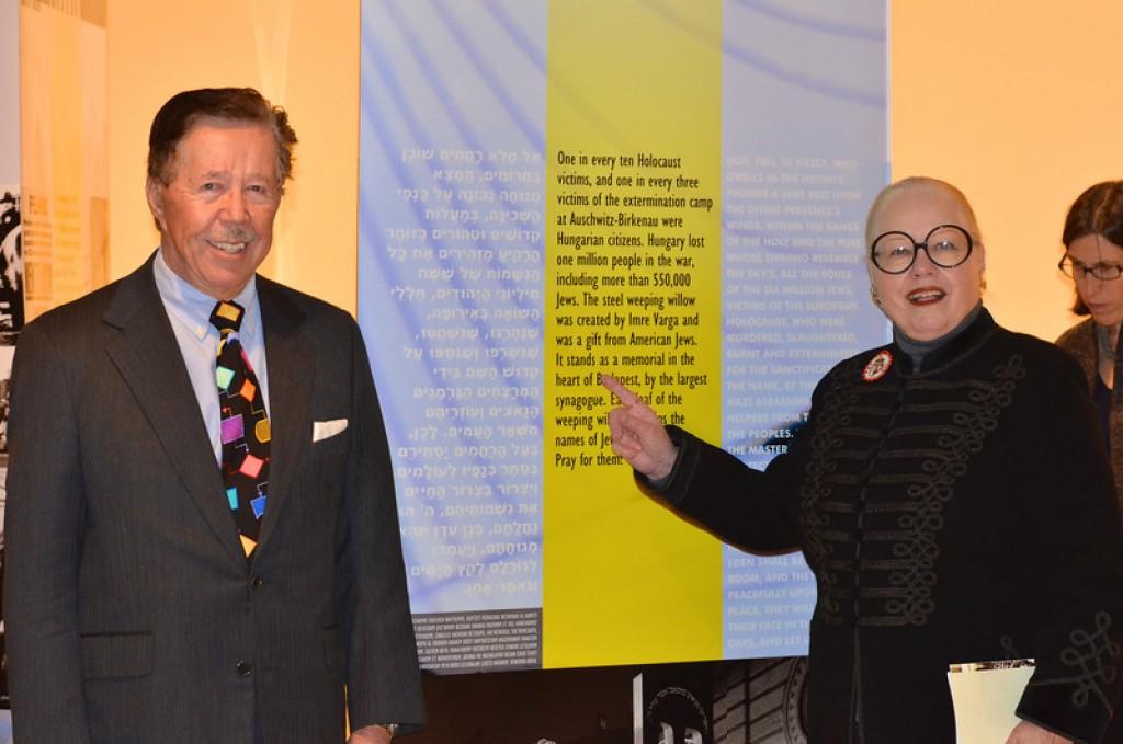 Leslie L. Megyeri, Kathy Megyeri - Photo by: Babette Rittmeyer/Lantos Foundation
