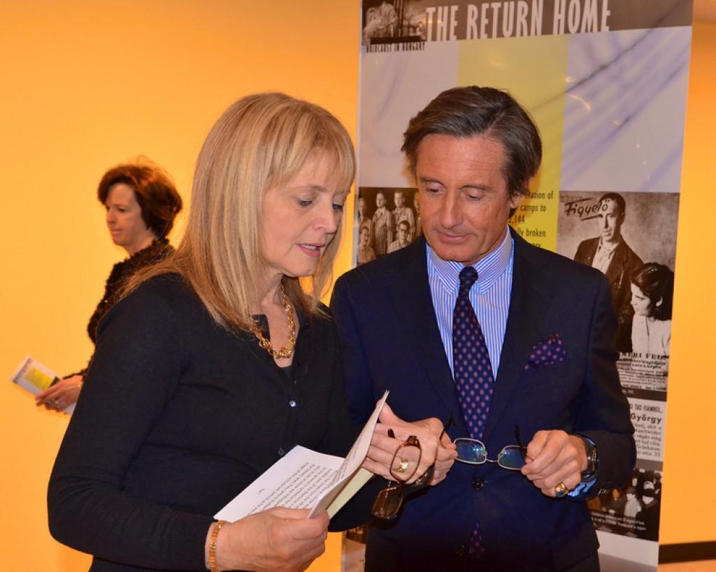 Kathrina Lantos Swett, Peter Launsky-Tieffenthal - Photo by: Babette Rittmeyer/Lantos Foundation