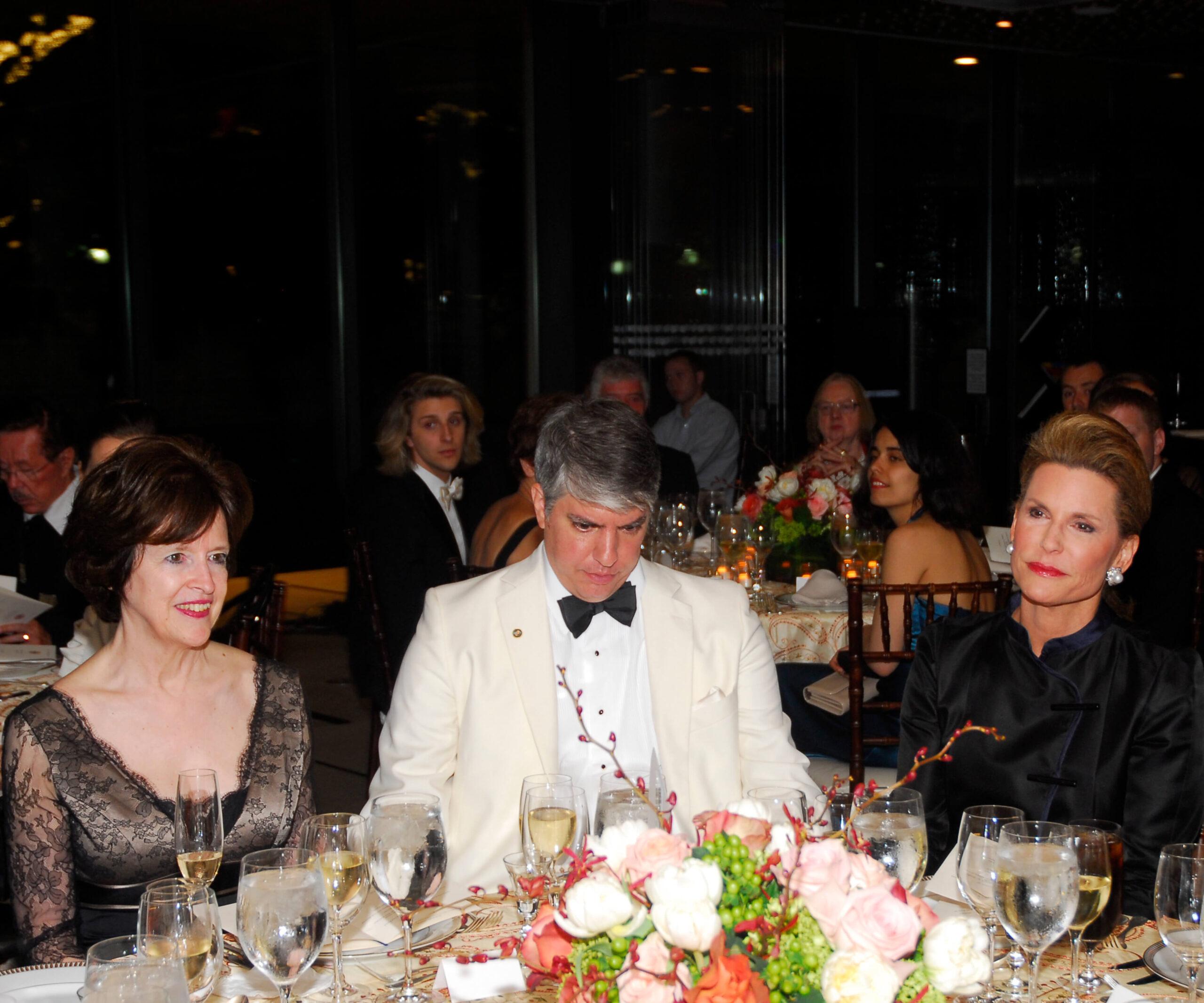 Ambassador April Foley; Max Teleki – President of the Hungarian American Coalition; Ambassador Nancy G. Brinker