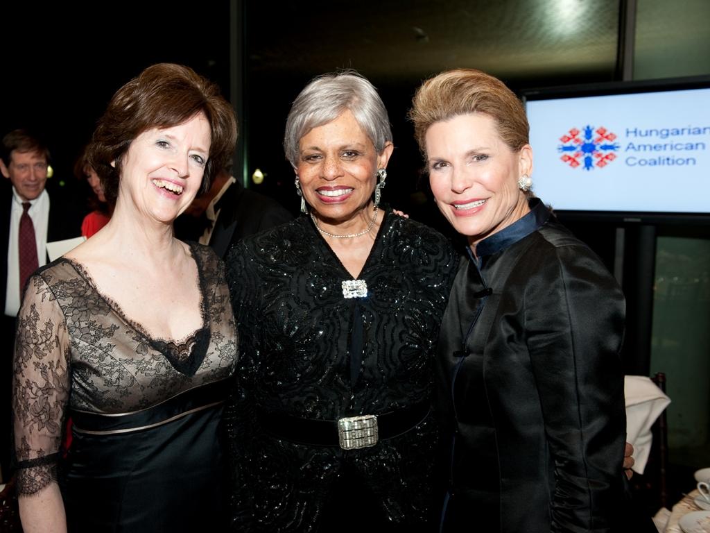 Ambassador April H. Foley; Alexine Jackson – Chair, Board of Directors - Susan G. Komen for the Cure; Ambassador Nancy G. Brinker