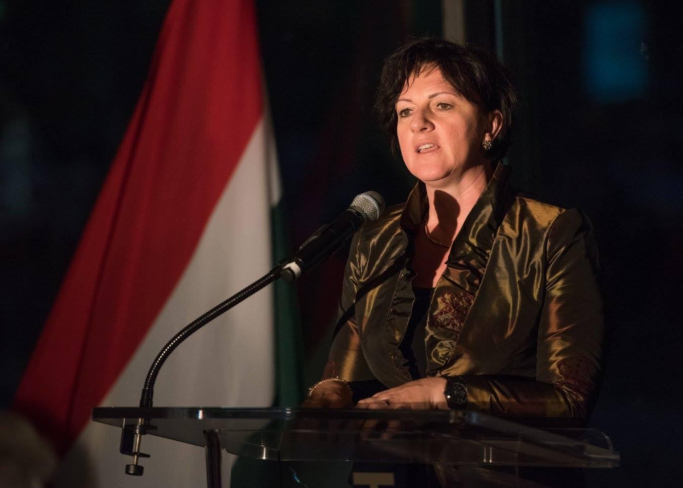 Ambassador Réka Szemerkényi