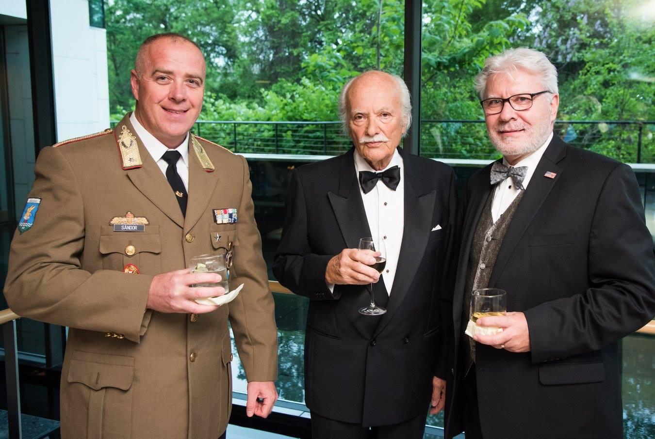 Brigadier General Zsolt Sándor, Mr. Istvan Teleki, Mr. Stefan Fedor