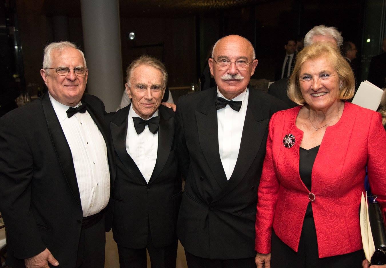 Coalition Treasurer Zsolt Szekeres, Mr. Julius Varallyay, Dr. János Martonyi, Dr. Rozália Rábai