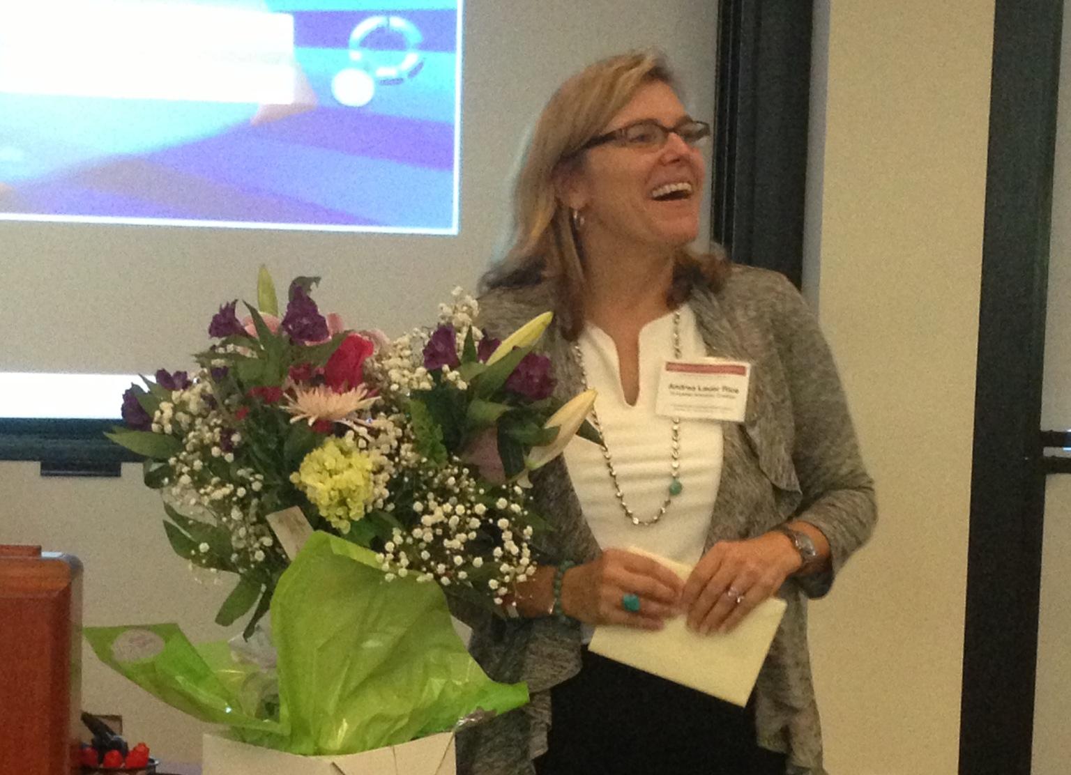 Coalition VP Andrea Lauer Rice, lead HATOG 7 organizer
