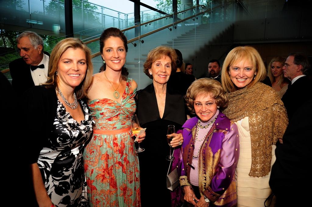 Coalition Vice President, Andrea Lauer Rice, Wendy Teleki, Beatriz Teleki, Annette Lantos, and Dr. Katrina Lantos Swett