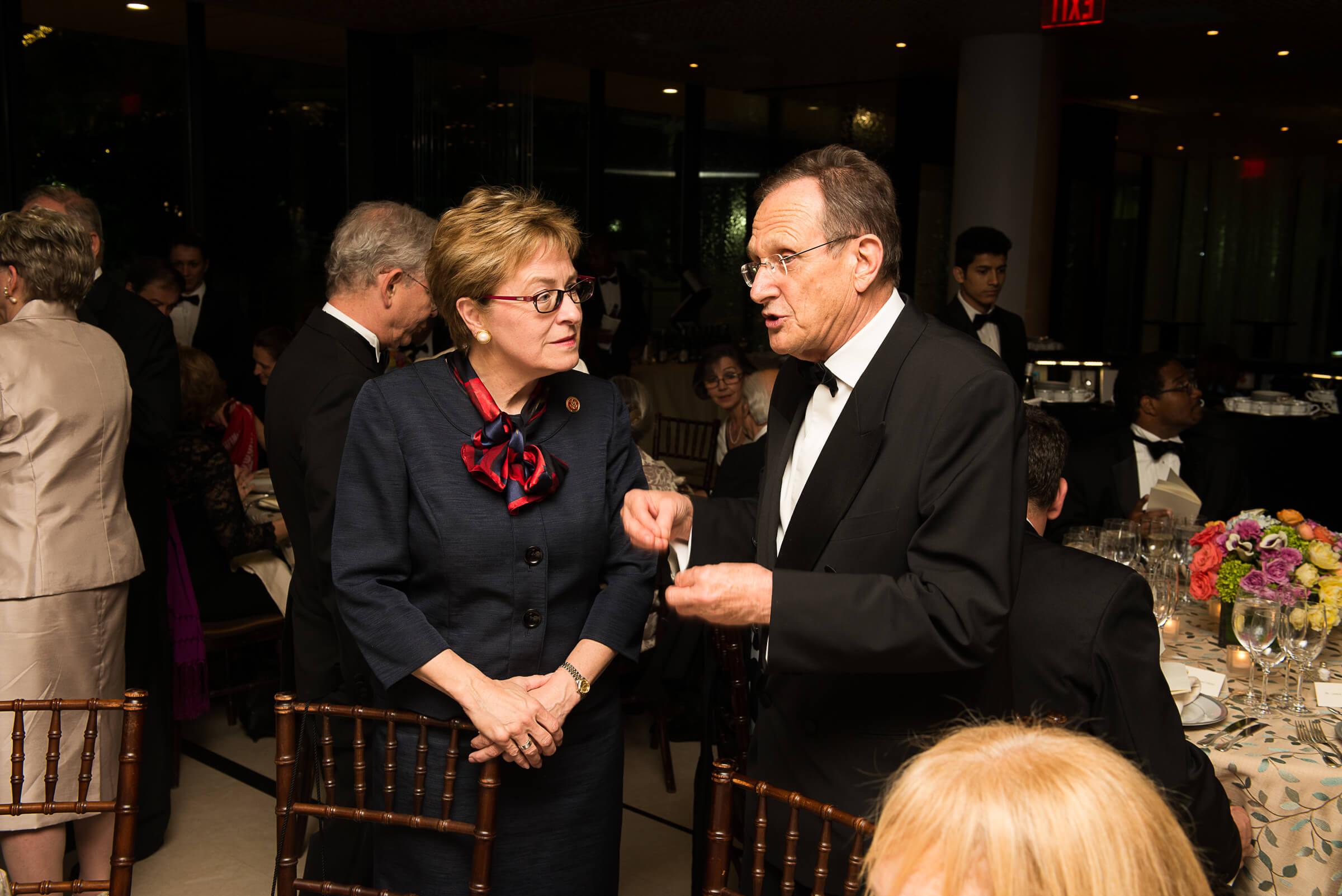Congresswoman Marcy Kaptur and Ambassador György Szapáry